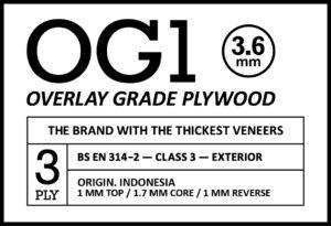 OG1 3.6mm Stamp